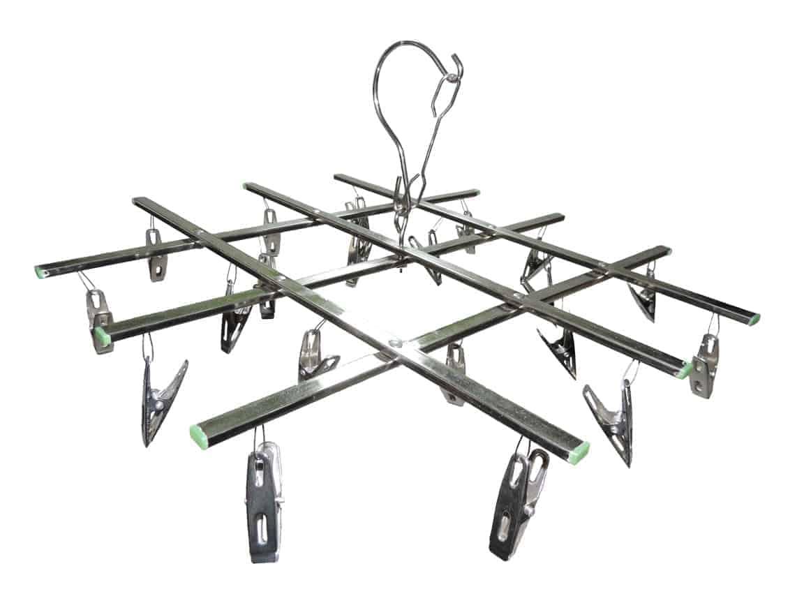 Tendedero metal rectangular plegable para ropa interior for Distribuidora ropa interior